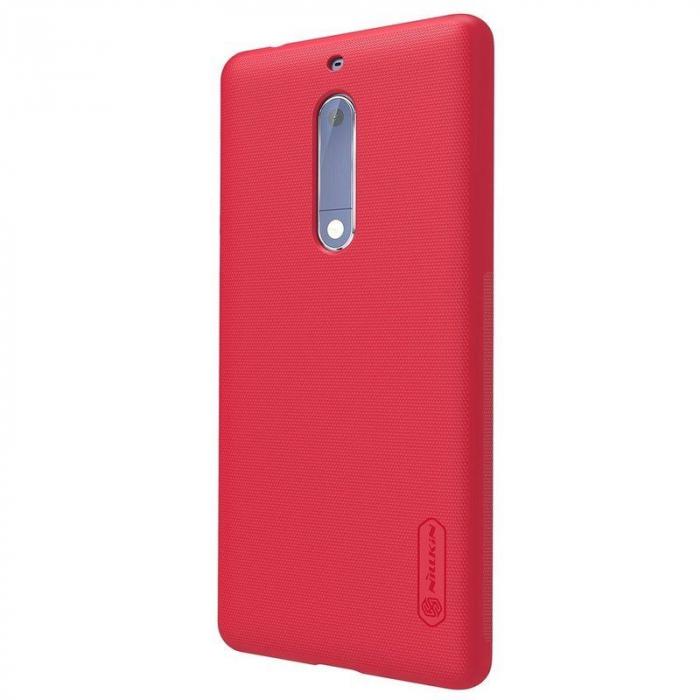 Husa   Nokia 5 Nillkin Frosted Shield - rosu 2