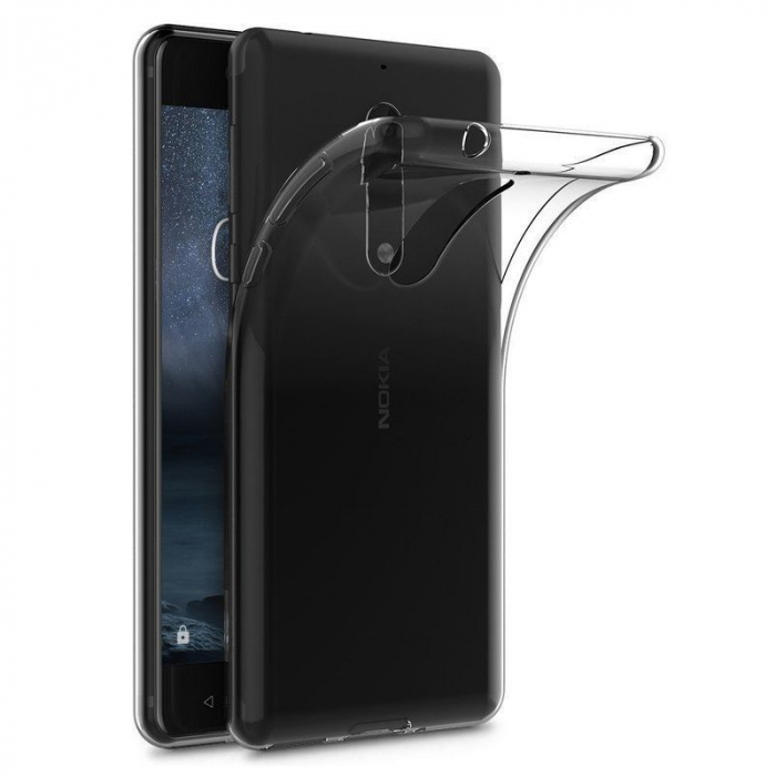 Husa Nokia 5 Silicon TPU extra slim 0.5 mm - transparent 0