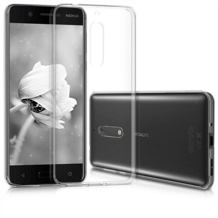 Husa Nokia 5 Silicon TPU extra slim 0.5 mm - transparent 2