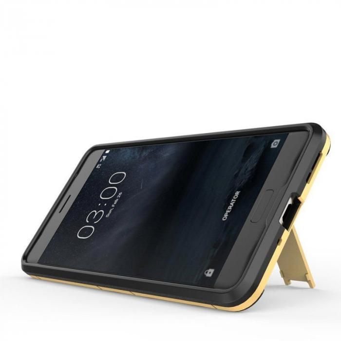Husa   Nokia 5 Slim Armour Hybrid - rosu 4