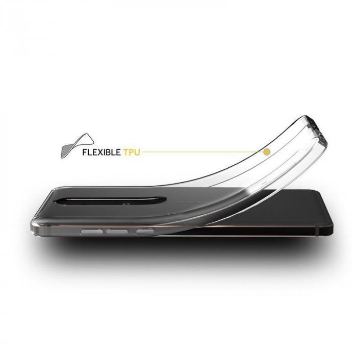 Husa   Nokia 6 (2018) / Nokia 6.1 Silicon TPU extra slim 0.5 mm - transparent 2