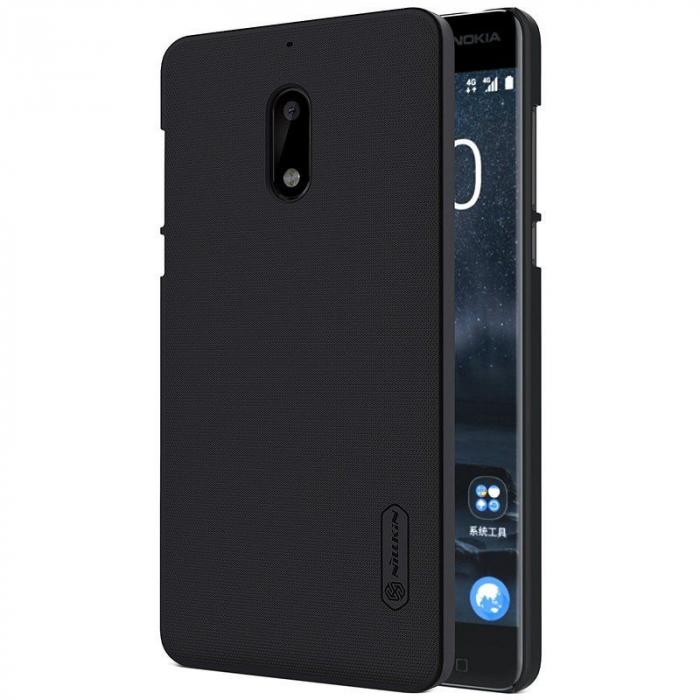 Husa Nokia 6 Nillkin Frosted Shield - negru 0