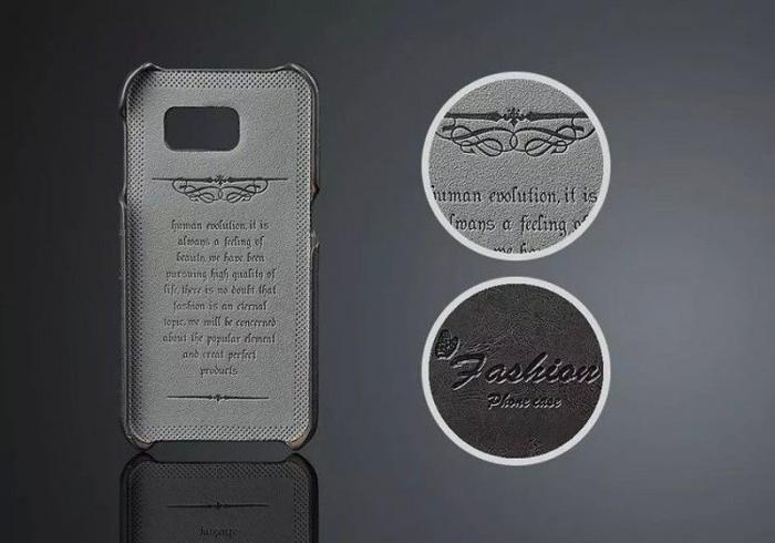 Husa piele Fashion Case  Samsung S6 - negru 2
