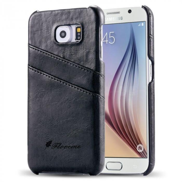 Husa piele Fashion Case  Samsung S6 - negru 0