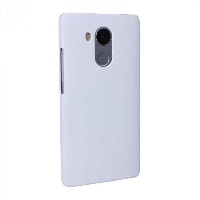 Husa plastic cauciucat Huawei Ascend Mate 8 - alb 1