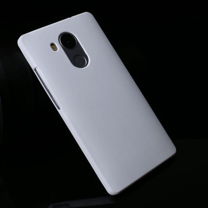 Husa plastic cauciucat Huawei Ascend Mate 8 - alb 2