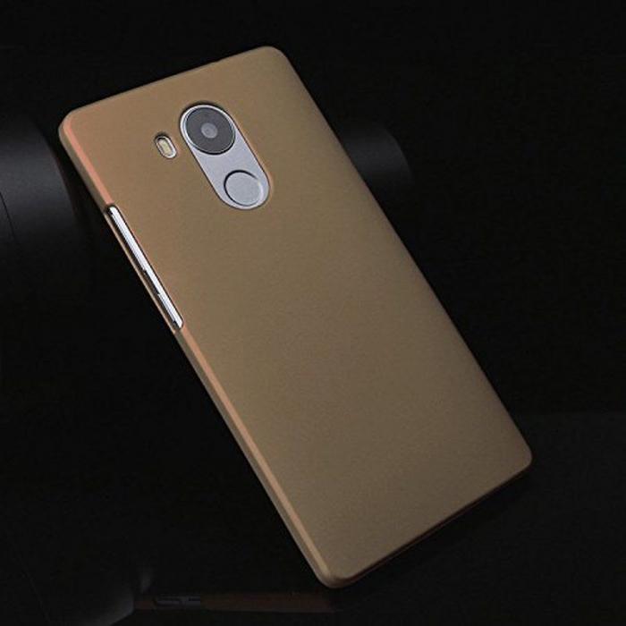 Husa plastic cauciucat Huawei Ascend Mate 8 - gold 3