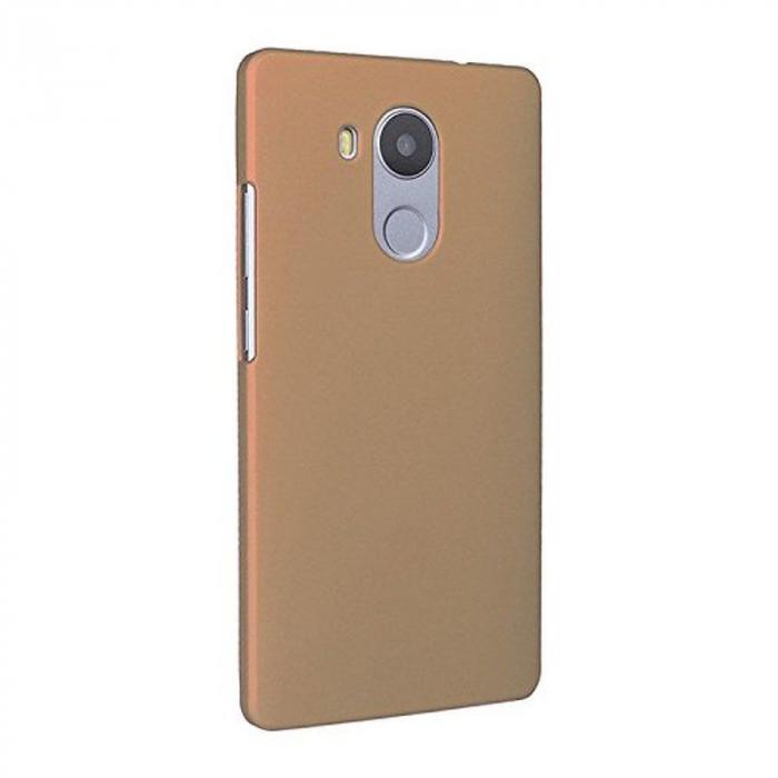 Husa plastic cauciucat Huawei Ascend Mate 8 - gold 1