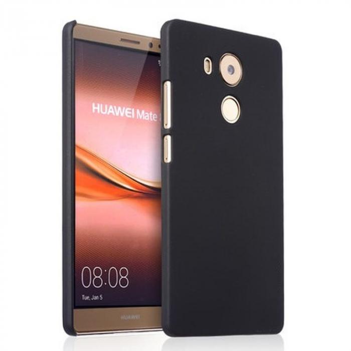 Husa plastic cauciucat Huawei Ascend Mate 8 - negru 0