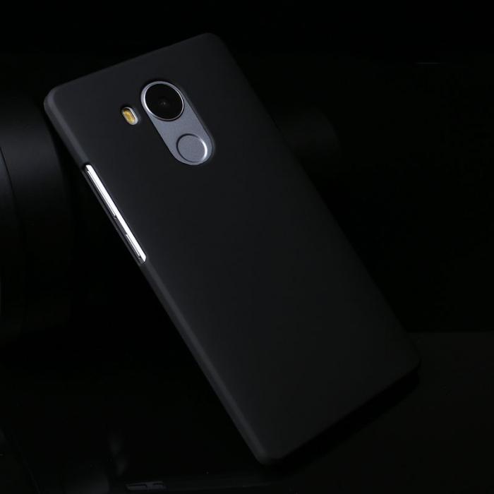 Husa plastic cauciucat Huawei Ascend Mate 8 - negru 2