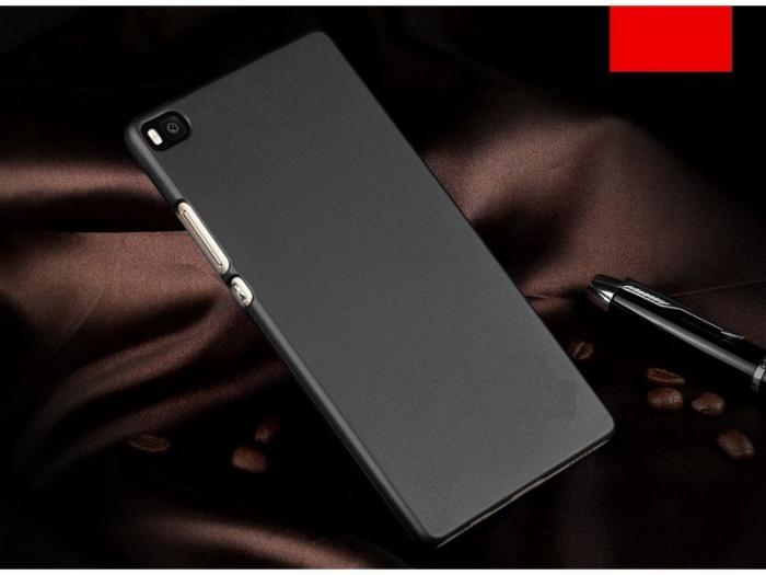 Husa plastic cauciucat Huawei Ascend P8 - negru 2