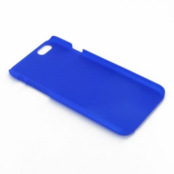 Husa iPhone 6 / iPhone 6s plastic cauciucat - albastru 4
