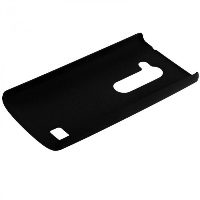 Husa LG Leon plastic cauciucat - negru 3