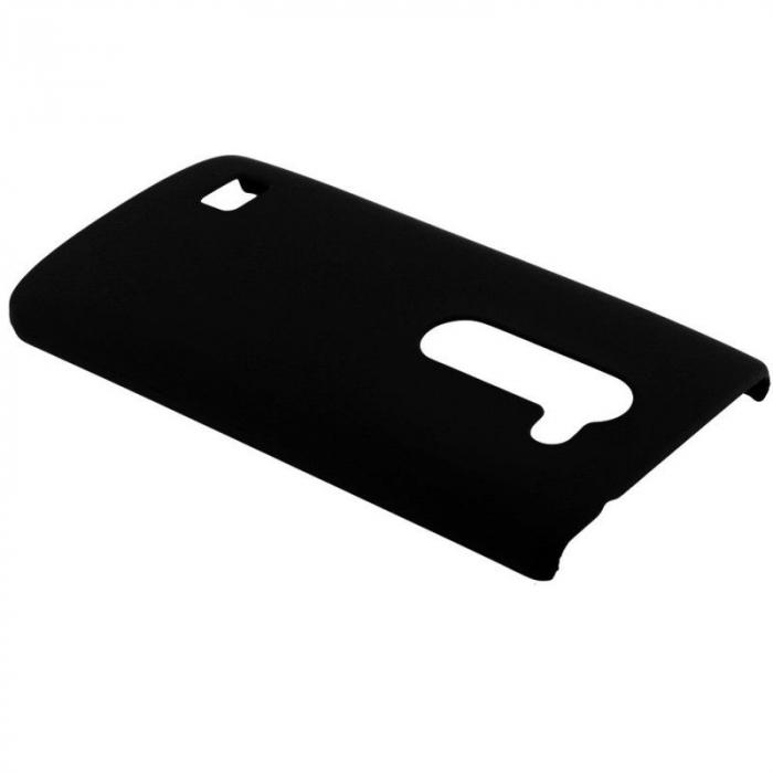 Husa LG Leon plastic cauciucat - negru 2