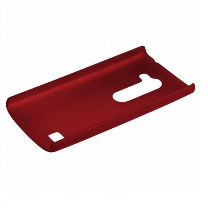Husa LG Leon plastic cauciucat - rosu 2