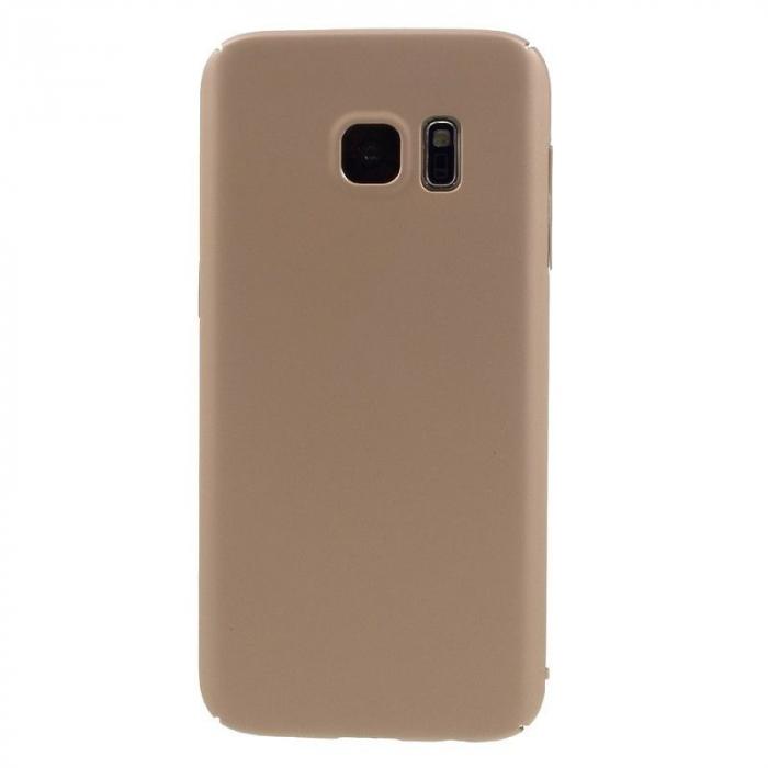 Husa plastic cauciucat Samsung Galaxy S7 - rose gold [3]
