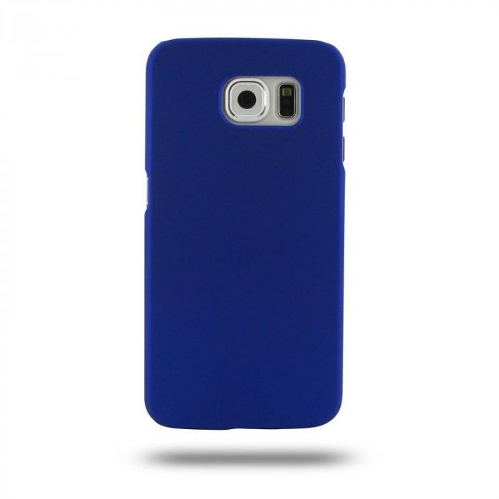 Husa Plastic Hard Case Samsung S6 - albastru 0
