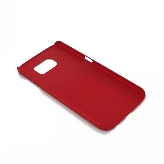 Husa Plastic Hard Case Samsung S6 - rosu 3