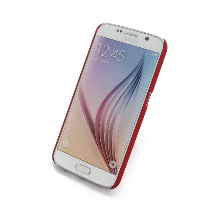 Husa Plastic Hard Case Samsung S6 - rosu 2