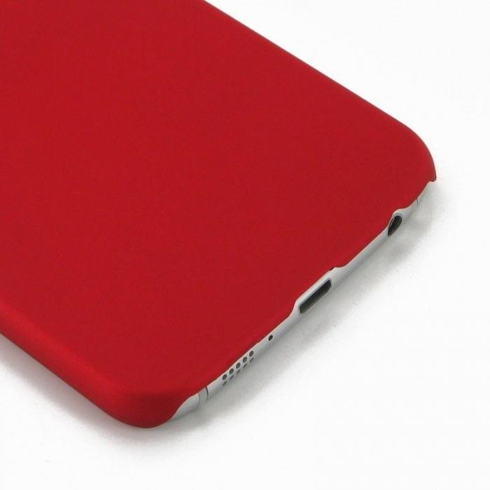 Husa Plastic Hard Case Samsung S6 - rosu 4