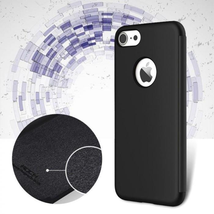 Husa  iPhone 7 Rock Dr.V Series - negru 2