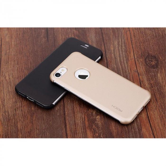 Husa  iPhone 7 Rock Dr.V Series - negru 7