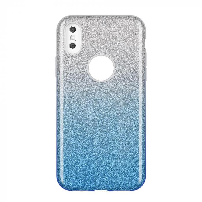 Husa Samsung A50 Shiny TPU Sclipici – Albastru degrade 0