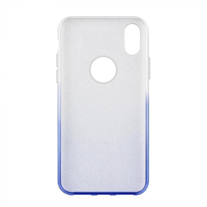 Husa Samsung A50 Shiny TPU Sclipici – Albastru degrade 1