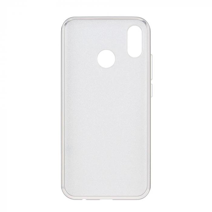 Husa Samsung A50 Shiny TPU Sclipici – Argintiu 1