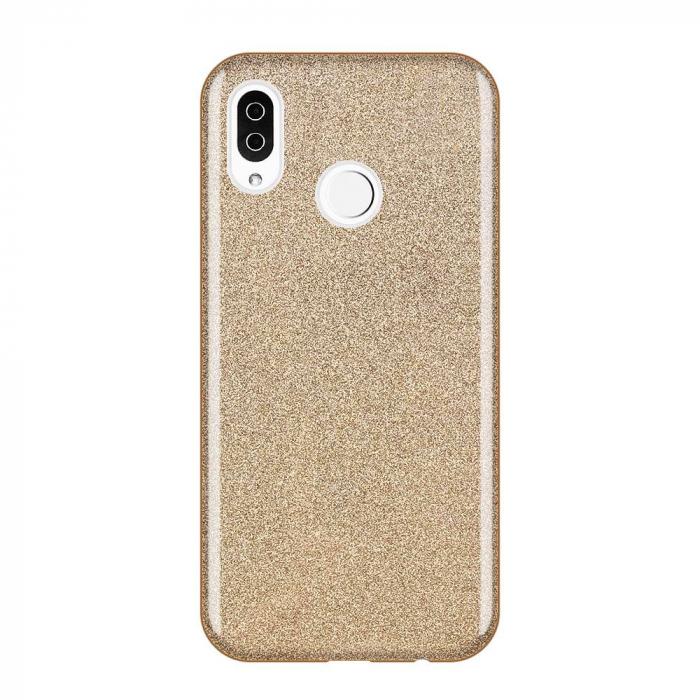 Husa Samsung A50 Shiny TPU Sclipici – Gold 0