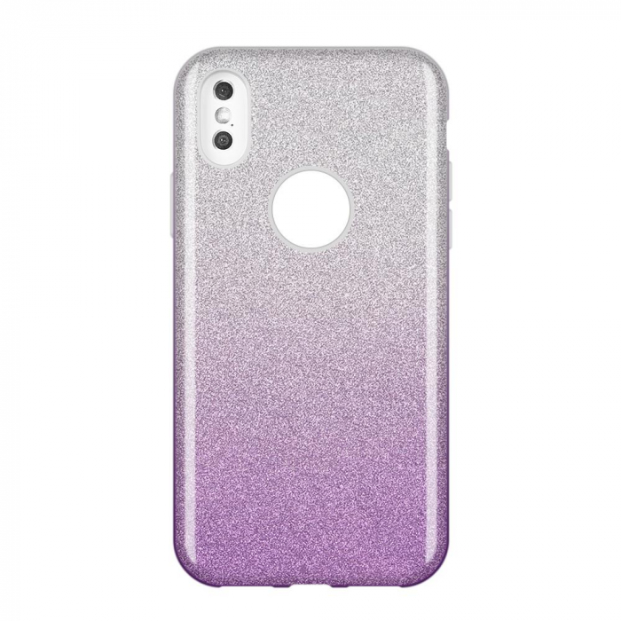 Husa Samsung A50 Shiny TPU Sclipici – Mov degrade 0
