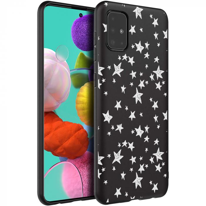 Husa Samsung A51 - Silicon Matte - Stars 1