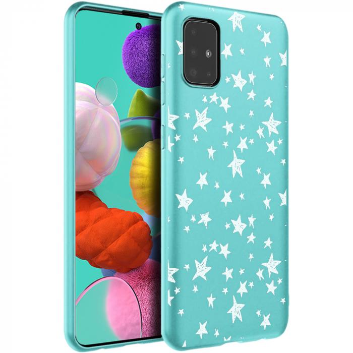 Husa Samsung A51 - Silicon Matte - Stars 2