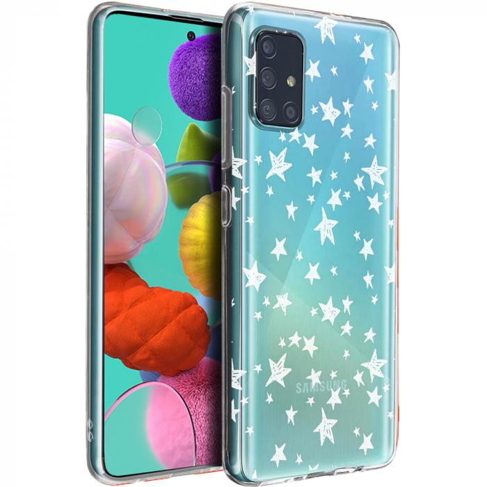 Husa Samsung A51 - Silicon Matte - Stars 4