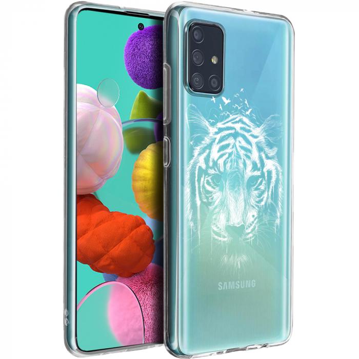 Husa Samsung A51 - Silicon Matte - Tiger 2