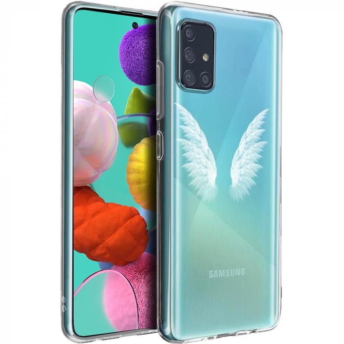 Husa Samsung A51 - Silicon Matte - Wings 4