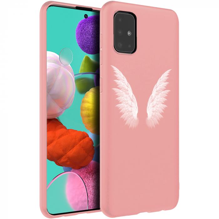 Husa Samsung A51 - Silicon Matte - Wings 3