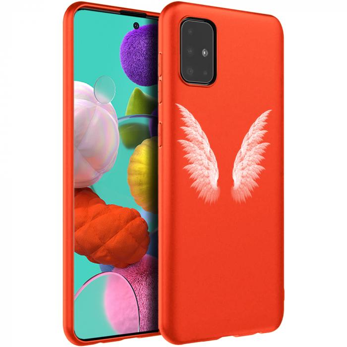 Husa Samsung A51 - Silicon Matte - Wings 1