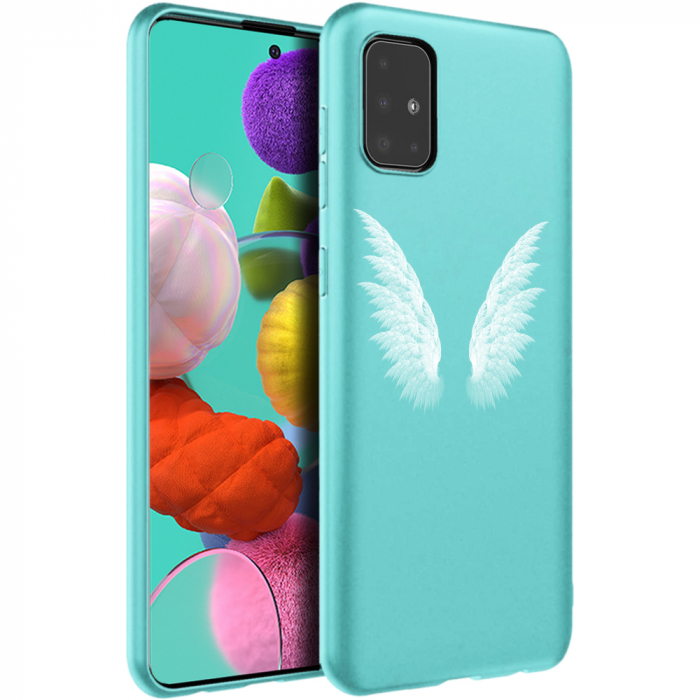 Husa Samsung A51 - Silicon Matte - Wings 2