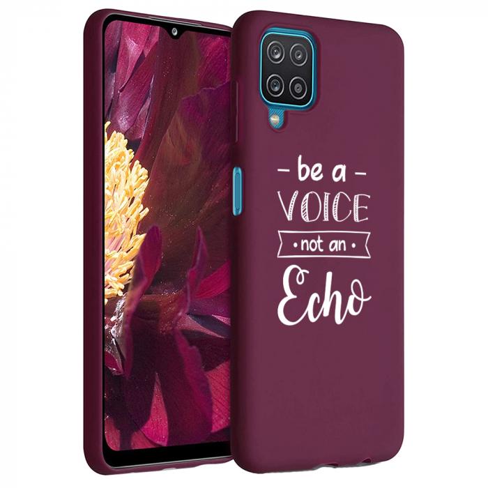Husa Samsung Galaxy A12 - A42  - Silicon Matte - Be a Voice [6]