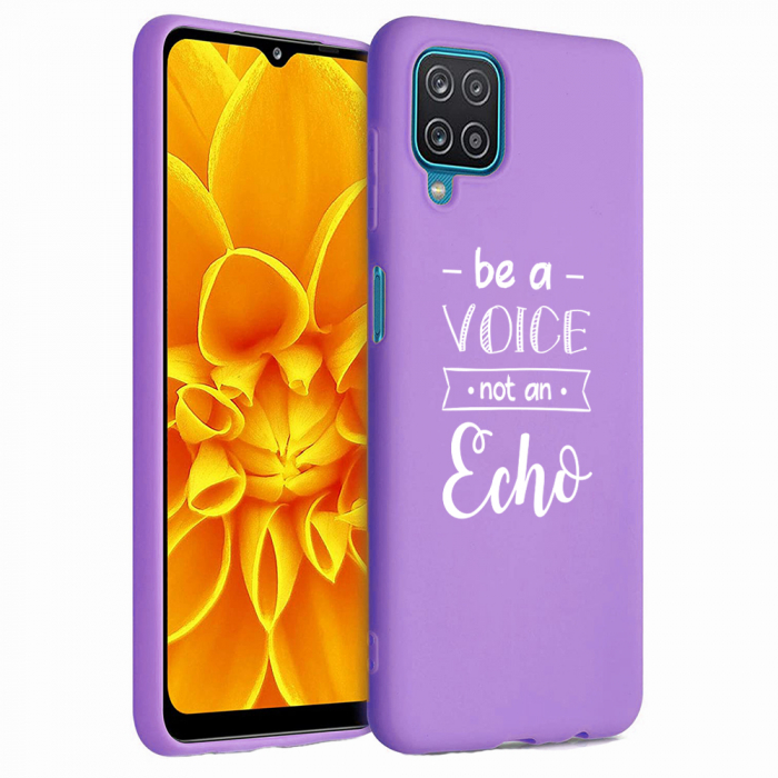 Husa Samsung Galaxy A12 - A42  - Silicon Matte - Be a Voice [4]
