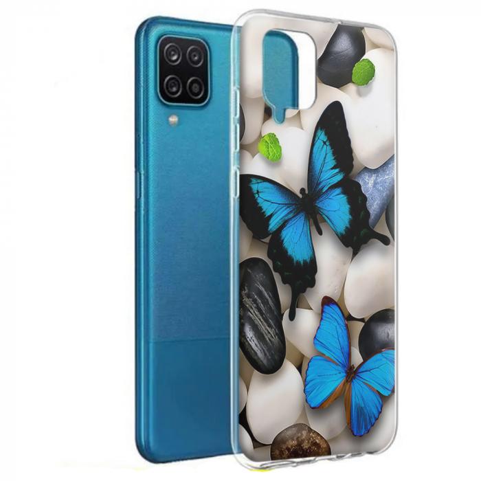 Husa Samsung Galaxy A12 - A42  - Silicon Matte - Butterfly 2 [0]