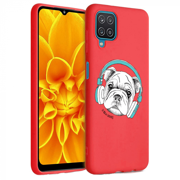 Husa Samsung Galaxy A12 - A42  - Silicon Matte - Cool Dog [2]