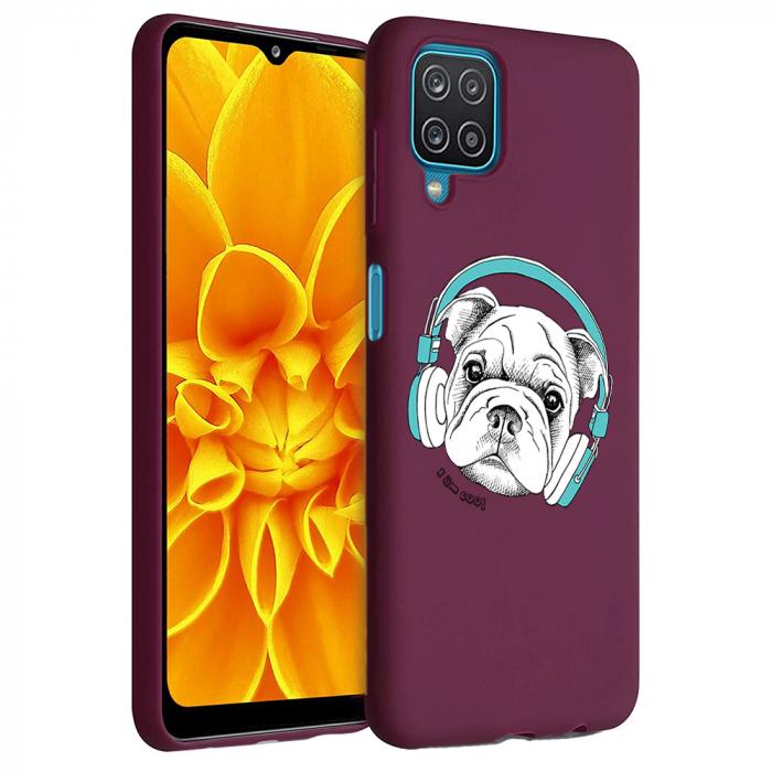 Husa Samsung Galaxy A12 - A42  - Silicon Matte - Cool Dog [1]