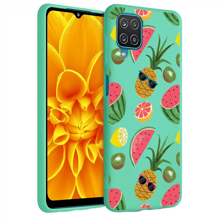 Husa Samsung Galaxy A12 - A42  - Silicon Matte - Cool Fruits [5]