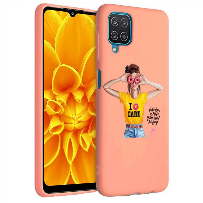 Husa Samsung Galaxy A12 - A42  - Silicon Matte - Don't Care [3]