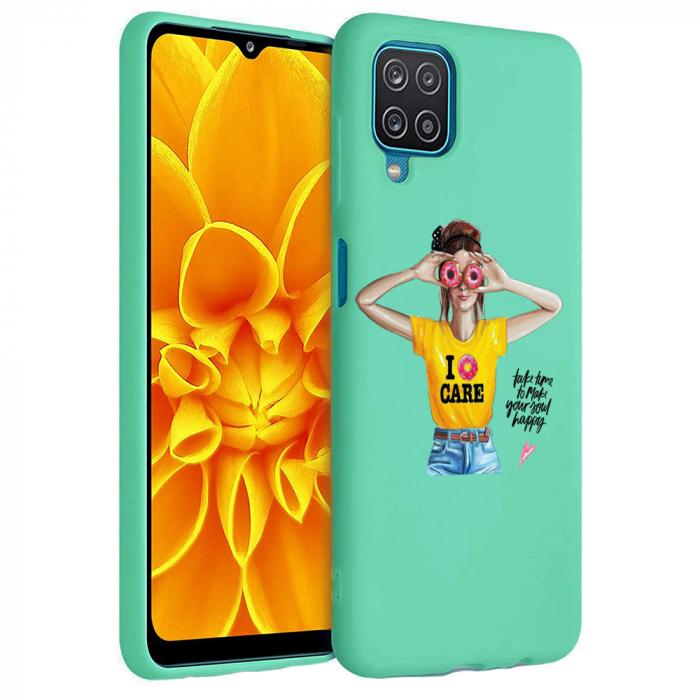 Husa Samsung Galaxy A12 - A42  - Silicon Matte - Don't Care [5]