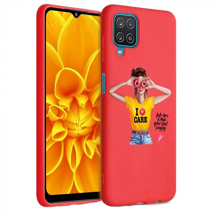 Husa Samsung Galaxy A12 - A42  - Silicon Matte - Don't Care [2]