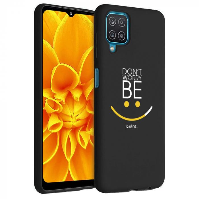 Husa Samsung Galaxy A12 - A42  - Silicon Matte - Don't Worry [1]