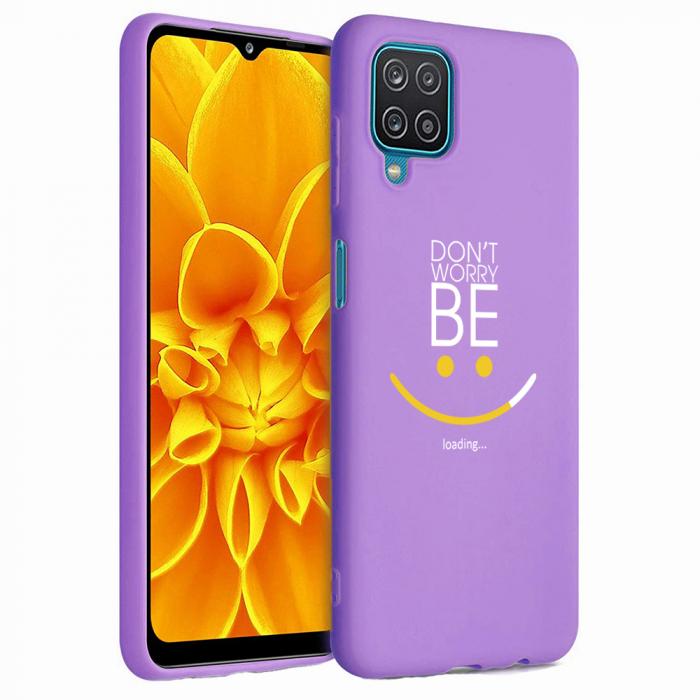 Husa Samsung Galaxy A12 - A42  - Silicon Matte - Don't Worry [3]